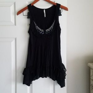Willow & Clay S Tank Top Blouse Excellent Conditn